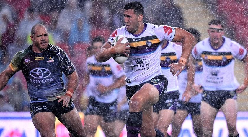 Melbourne Storm prop Nelson Asofa-Solomona.