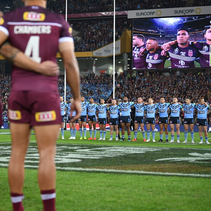 Anthem remaining for Origin after fans' feedback to ARL Commission