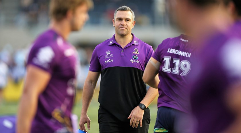 Jason Ryles has served a lengthy apprenticeship as Storm assistant coach.