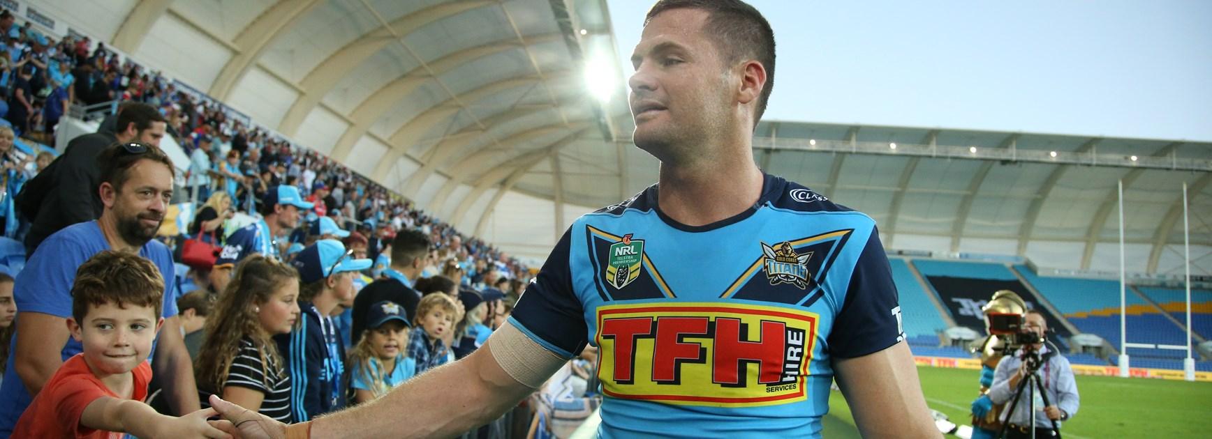 Titans winger Anthony Don.