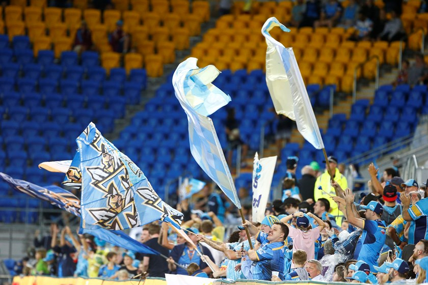 Gold Coast Titans fans.