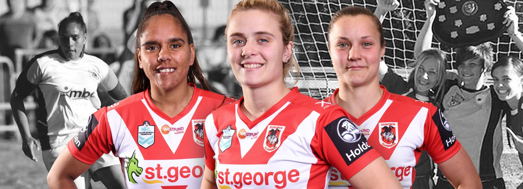 From soccer stars to NRLW: Trio to make history