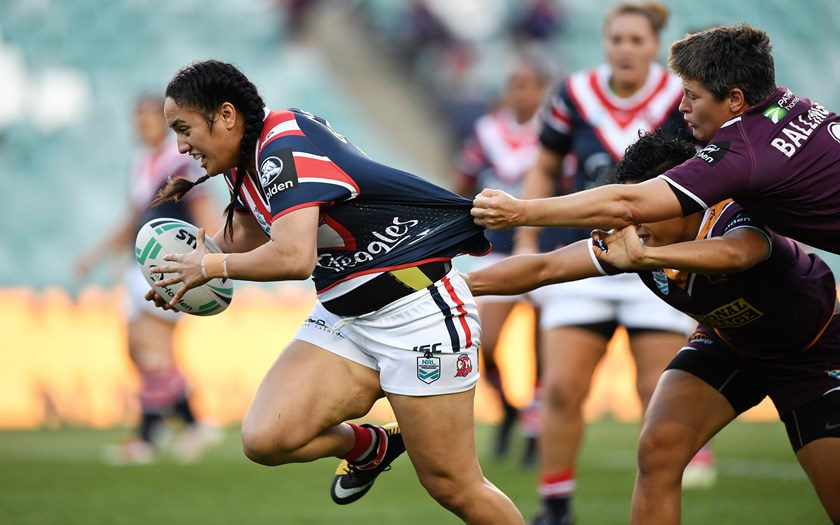 Roosters and Jillaroos forward Tazmin Gray.