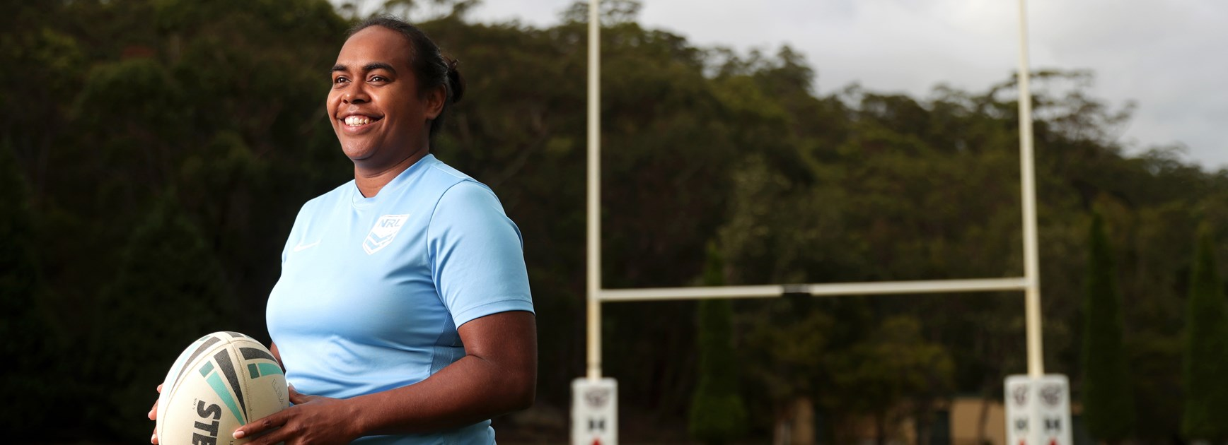 Roosters, NSW and Jillaroos representative Lavina O'Mealey.