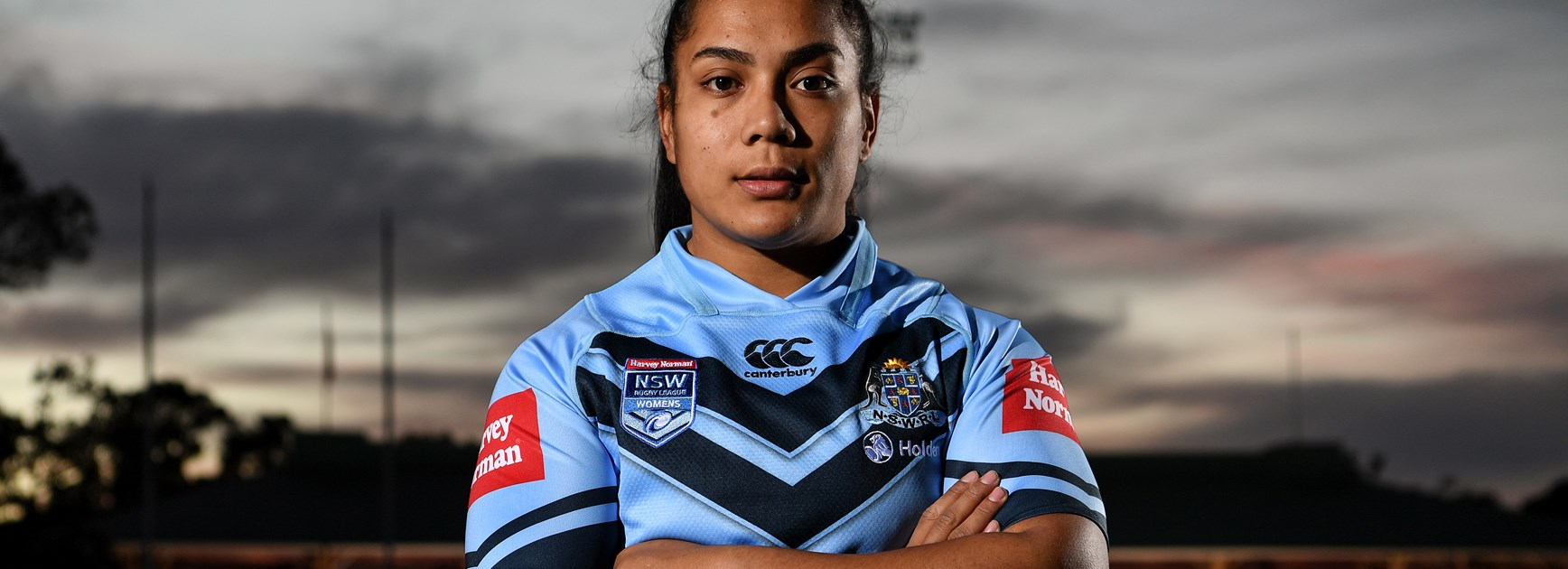 NSW Origin player and Jillaroo Simaima Taufa.