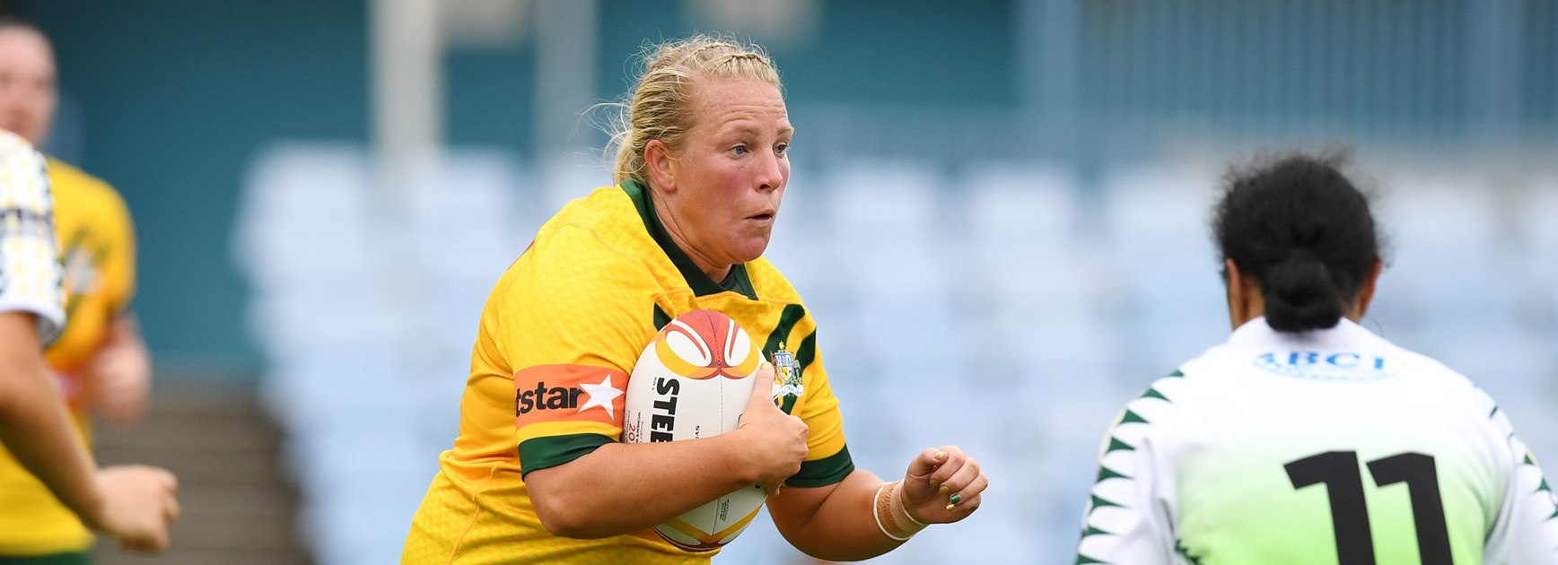 Jillaroos forward Bec Young.