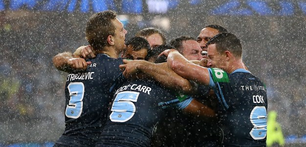 Blues crush Maroons in Perth to keep Origin series alive