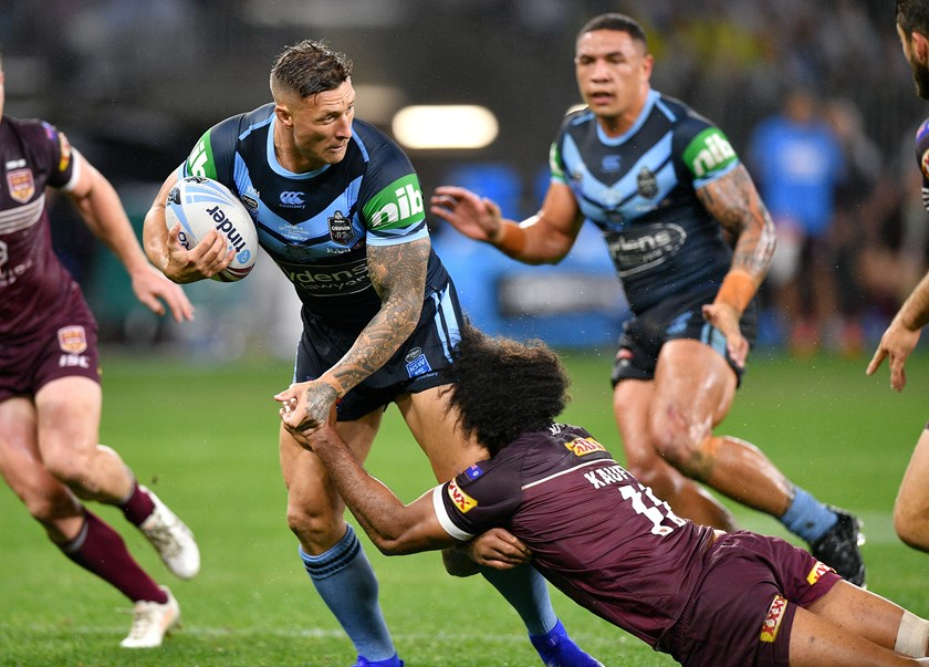 Blues forward Tariq Sims.