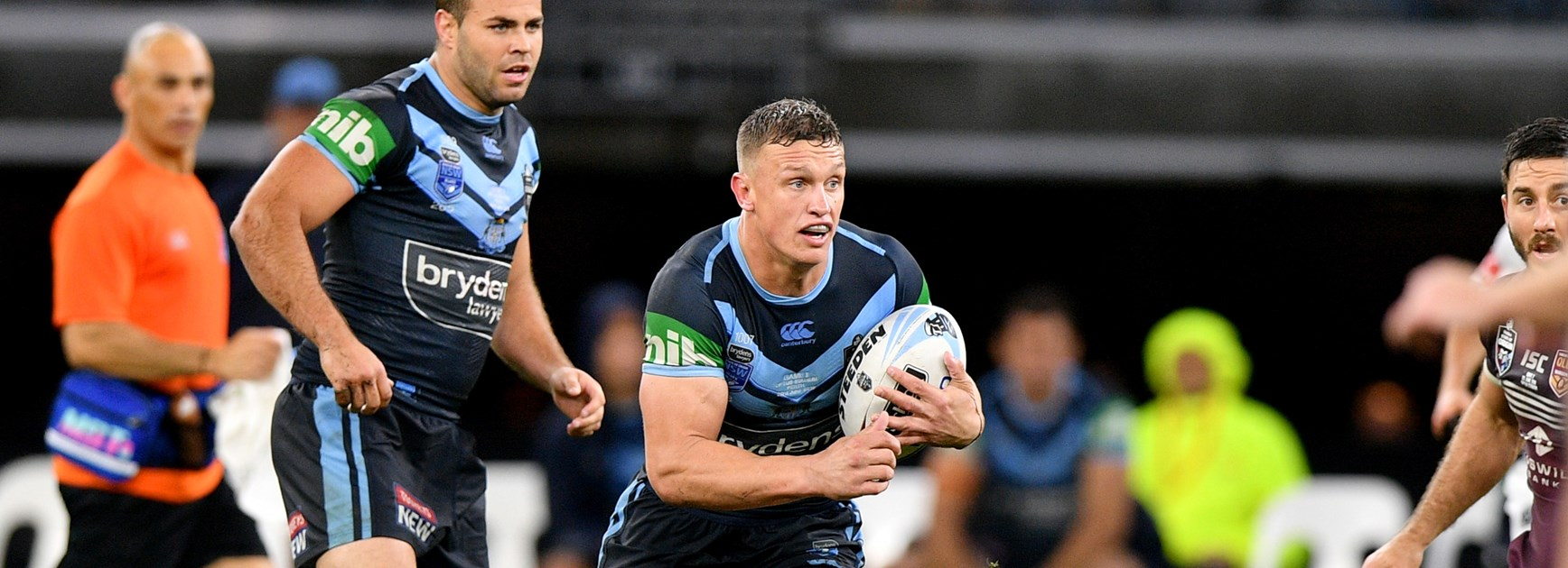 Blues centre Jack Wighton.