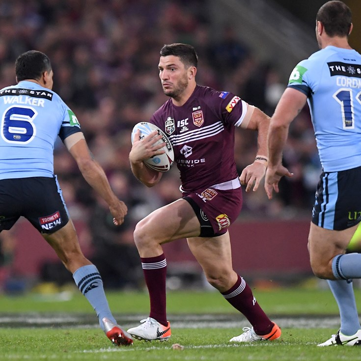 'Get the win and go to Sydney two up': Gillett's Origin call