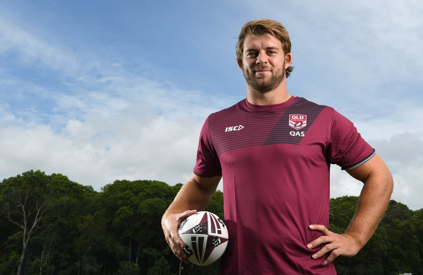 Queensland selection Christian Welch.