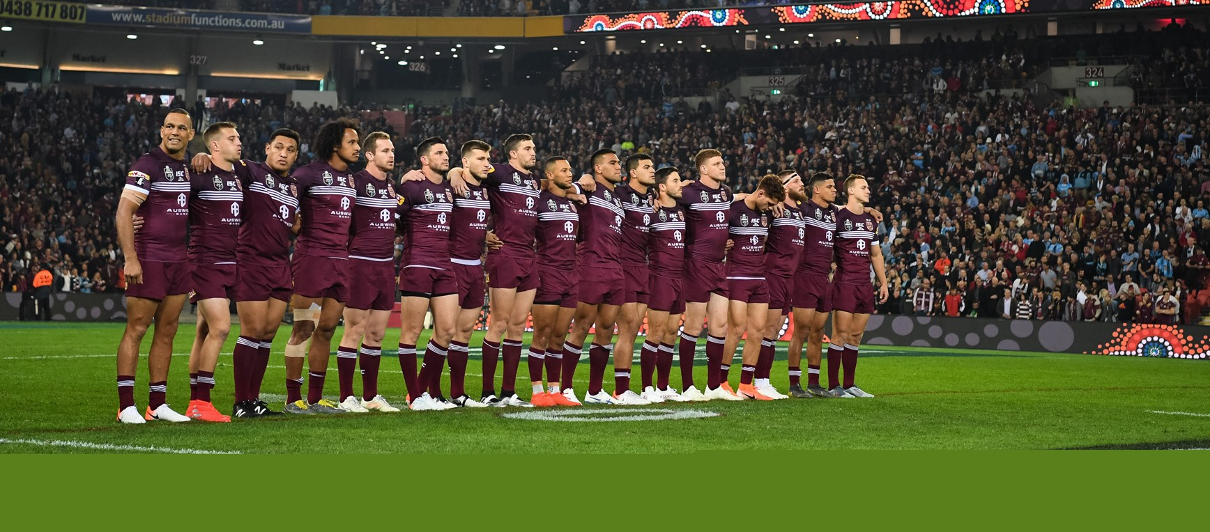 Best photos from State of Origin I