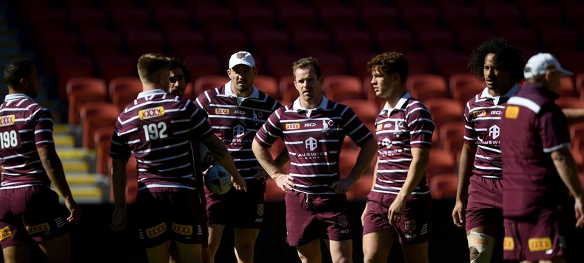 Michael Morgan and the Maroons on Tuesday.