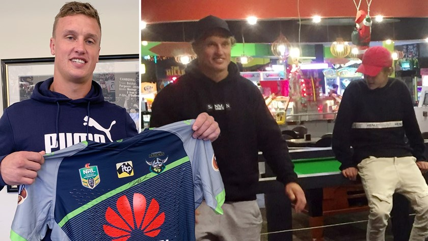 Jack Wighton has raised money for his friend who is battling cancer and also devoted time to helping troubled youth.