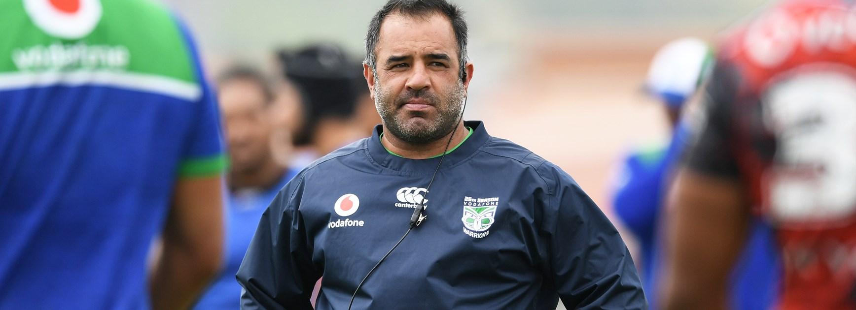 New Zealand Maori coach Stacey Jones.