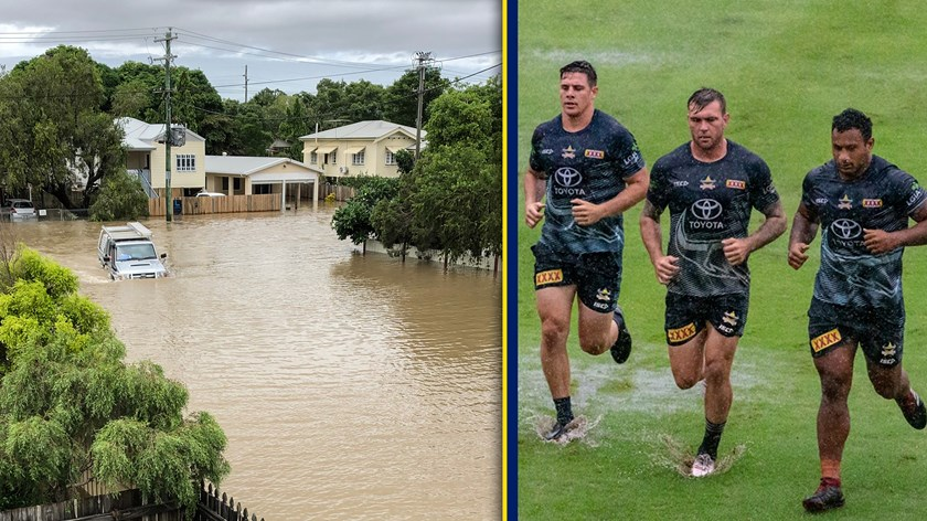 Townsville has been devastated by floods in the past week.