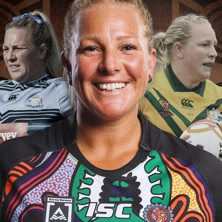 Indigenous pride fuels Rebecca's All Star fire
