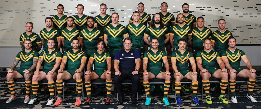 The 2016 Kangaroos squad.