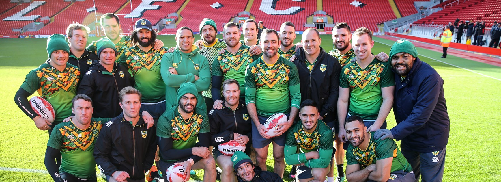Kangaroos and Jillaroos set to play at iconic English stadiums