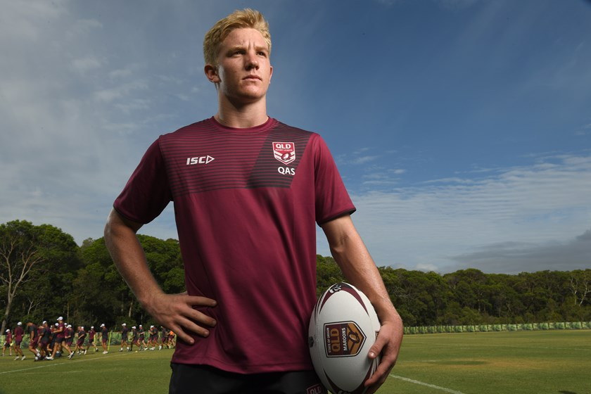 Tom Dearden is part of the Emerging Maroons squad.