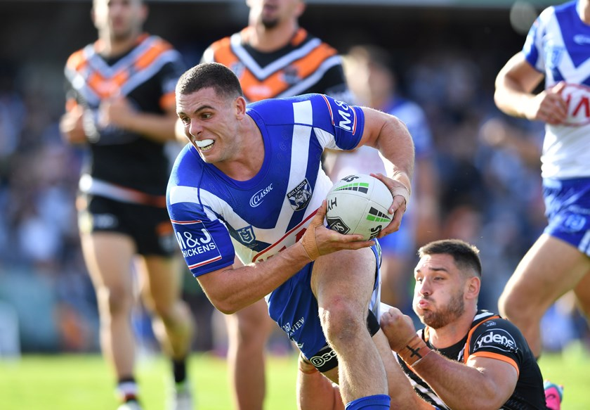 Bulldogs back-rower Adam Elliott.