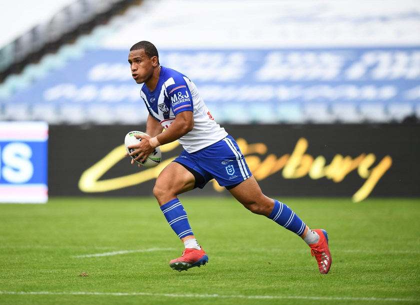 Bulldogs centre Will Hopoate.