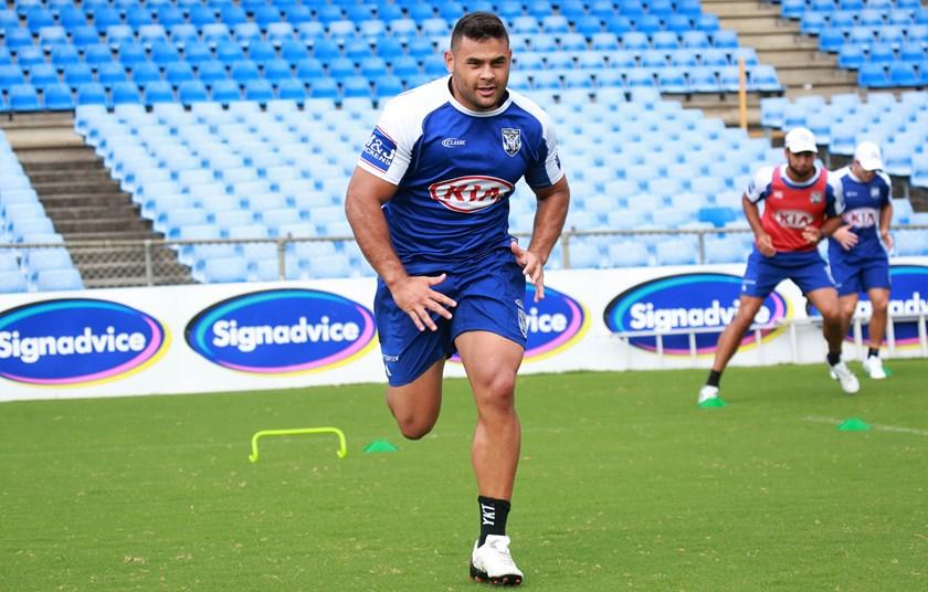 Bulldogs forward Rhyse Martin.