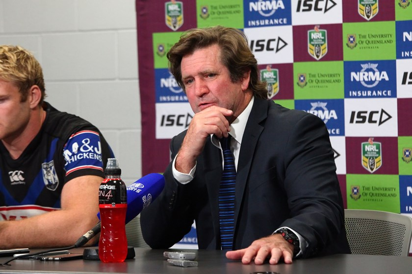Former Canterbury coach Des Hasler is back with Manly.