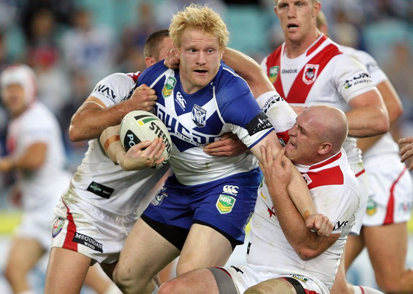 Former Bulldogs prop James Graham.