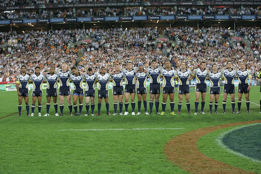 Ready to do battle in the 2005 decider.
