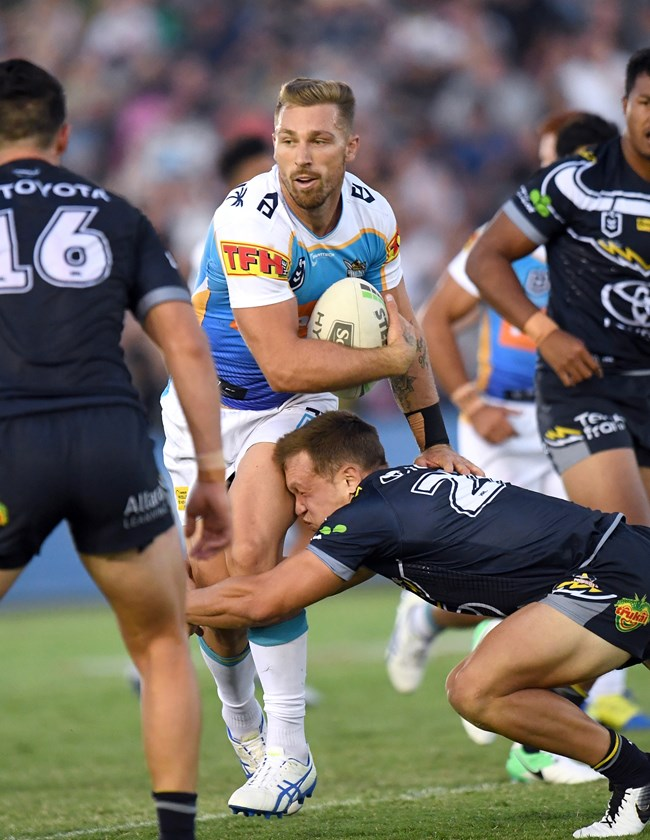 Titans back-rower Bryce Cartwright.