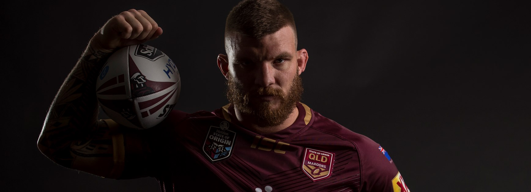 Cowboys and Maroons forward Josh McGuire.