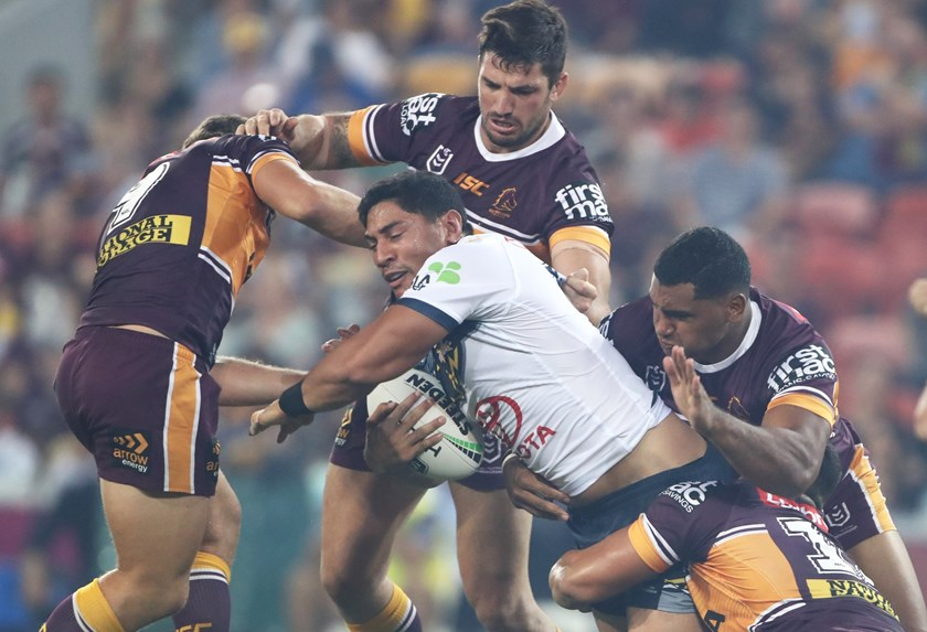 Cowboys lock Jason Taumalolo.