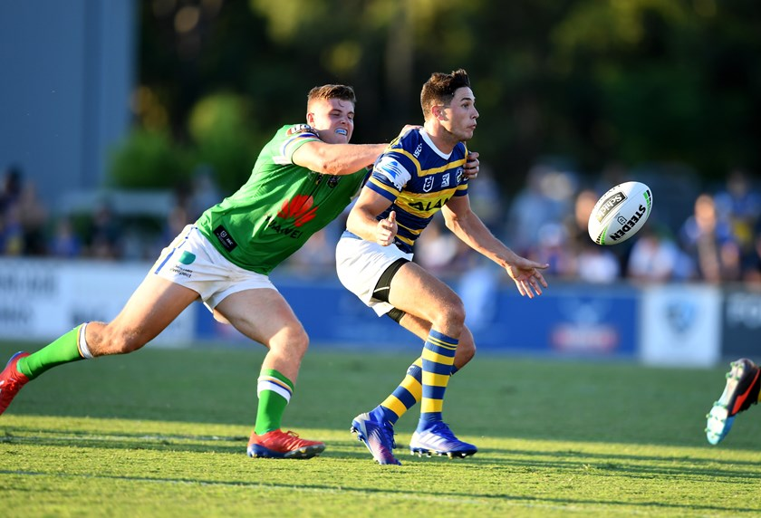 Eels halfback Mitchell Moses.