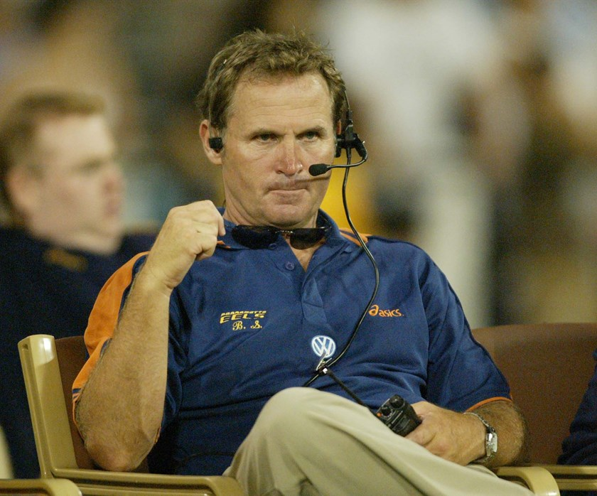 Former Eels coach Brian Smith