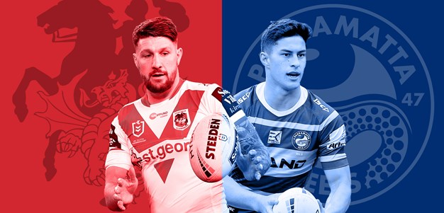 Dragons v Eels: Round 20 preview