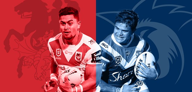 Dragons v Roosters: Round 23 preview