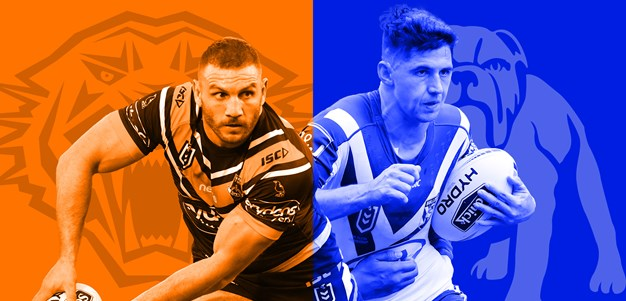 Wests Tigers v Bulldogs: Pay rings changes for Canterbury
