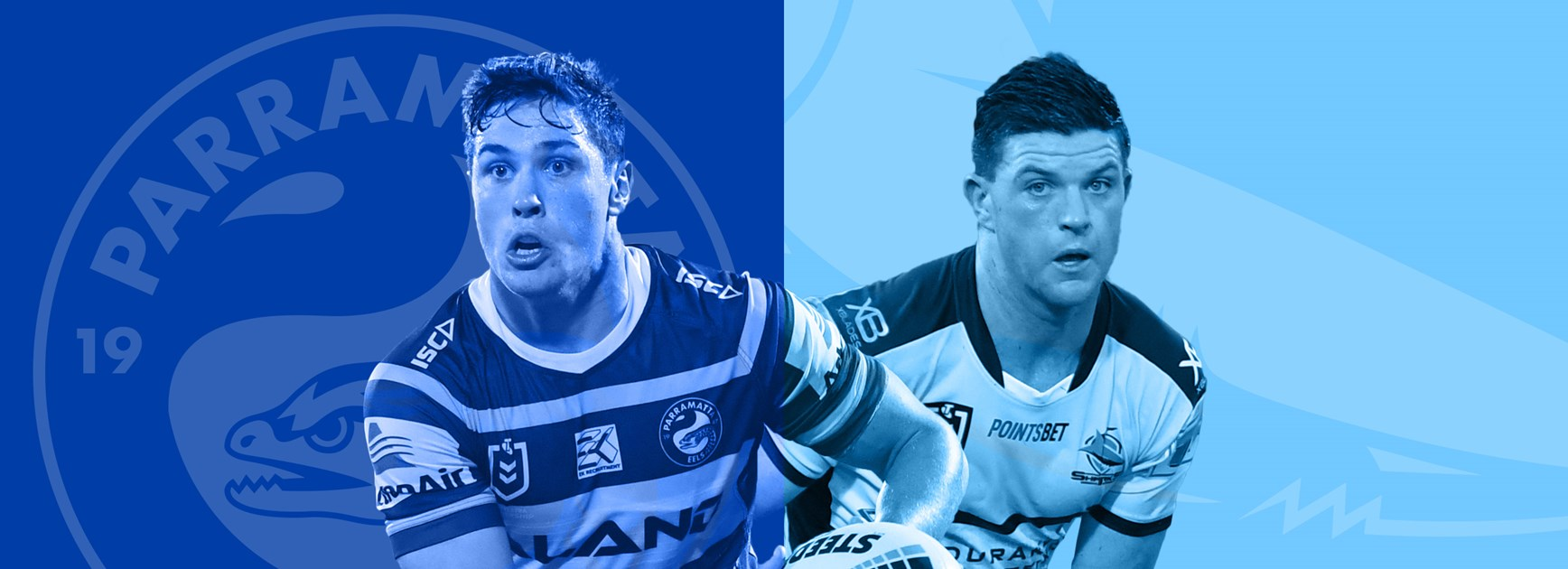 Eels v Sharks: Johnson, Gallen out; Salmon in