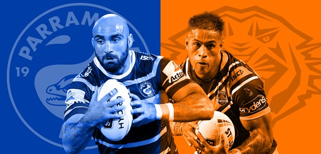 Eels v Wests Tigers: Arthur turns to young guns; Tigers unchanged
