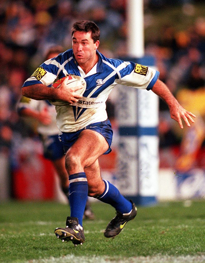 Bradley Clyde finished his NRL career with Canterbury.