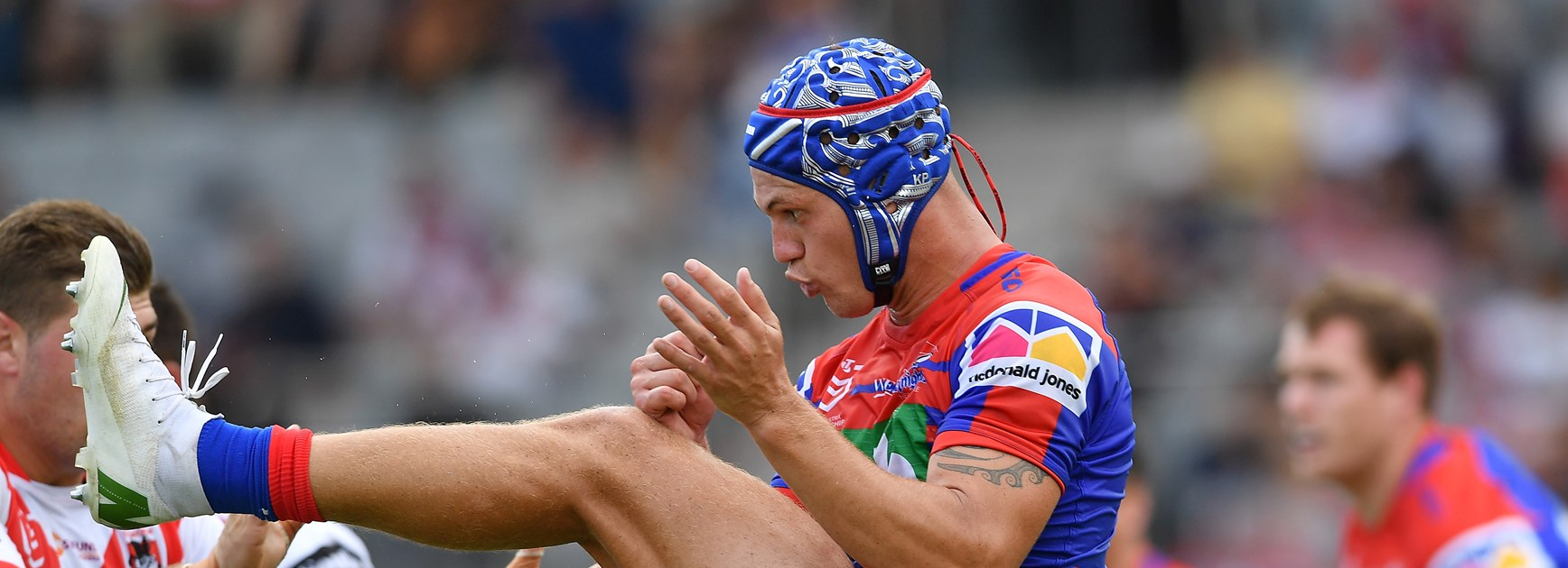Improving in new role but more to work on, says Ponga