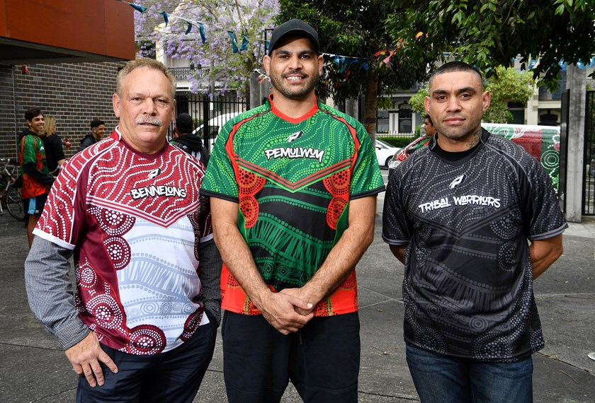 Cliff Lyons, Greg Inglis and Nathan Merritt.