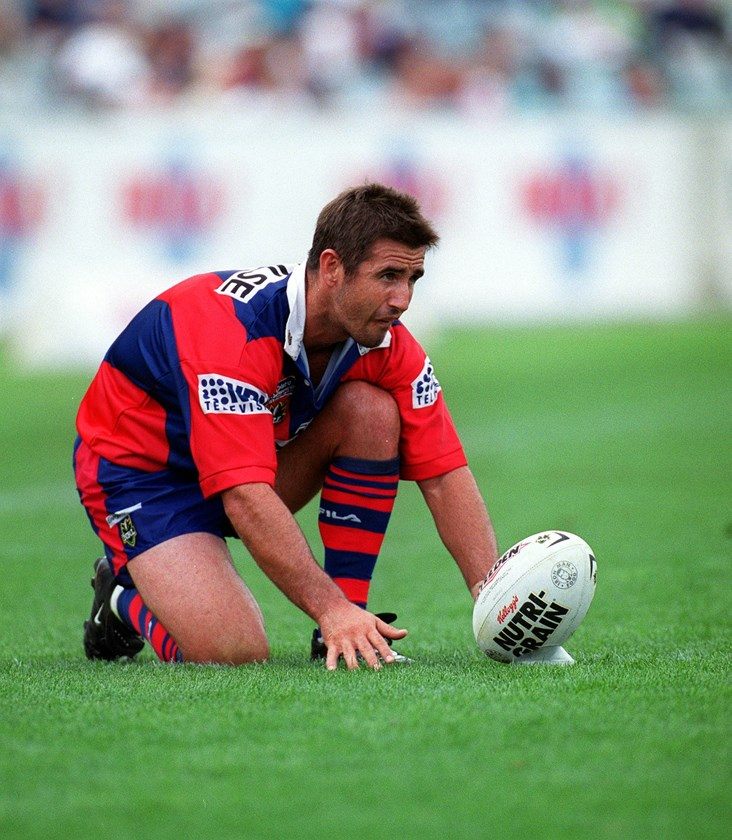 Knights legend Andrew Johns.
