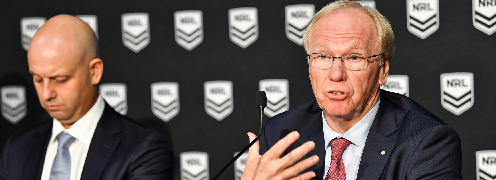 ARLC announces 'no-fault stand down policy' for players facing serious charges