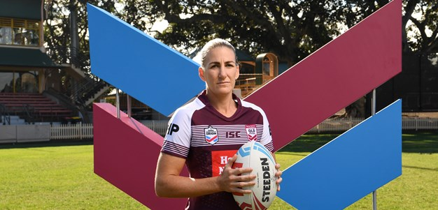Maroons women not in the mood to talk up the Blues either