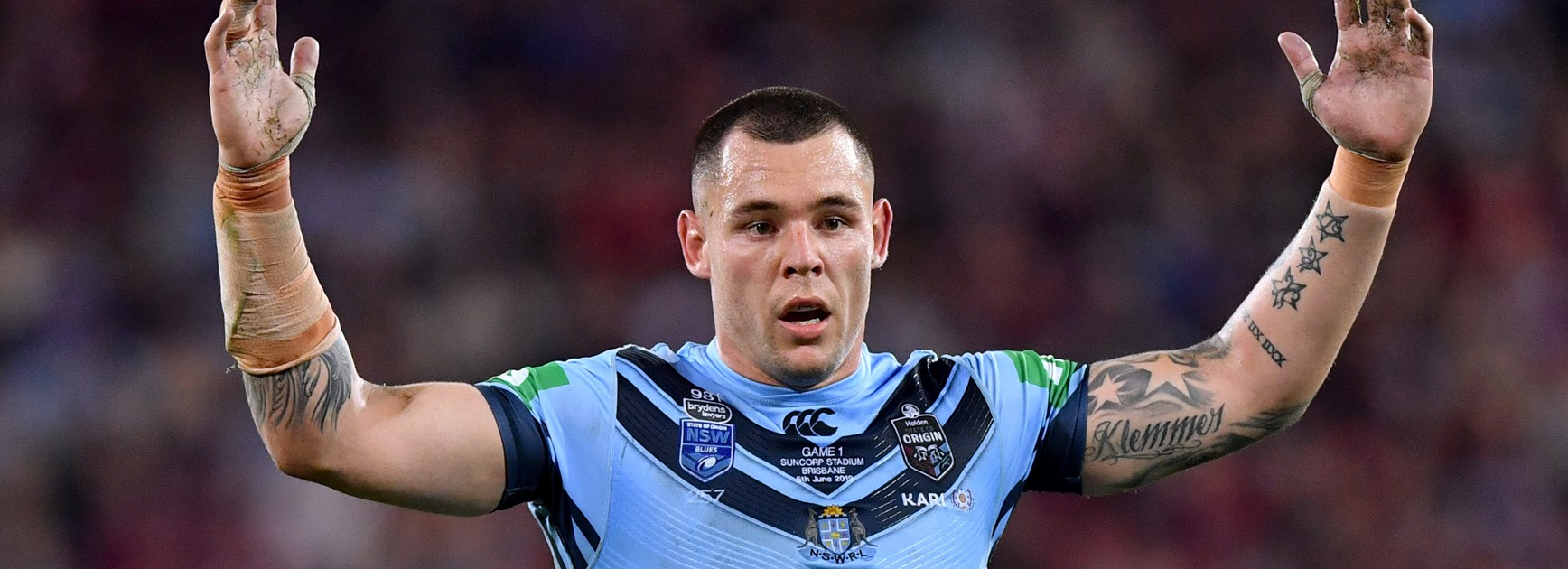 Fast-healing Klemmer on track to return for Origin III