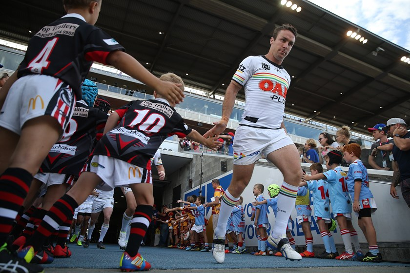 Penrith Panthers playmaker James Maloney.