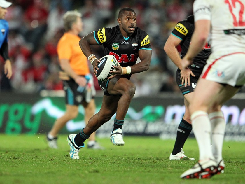 Hooker James Segeyaro with the Panthers in 2103.