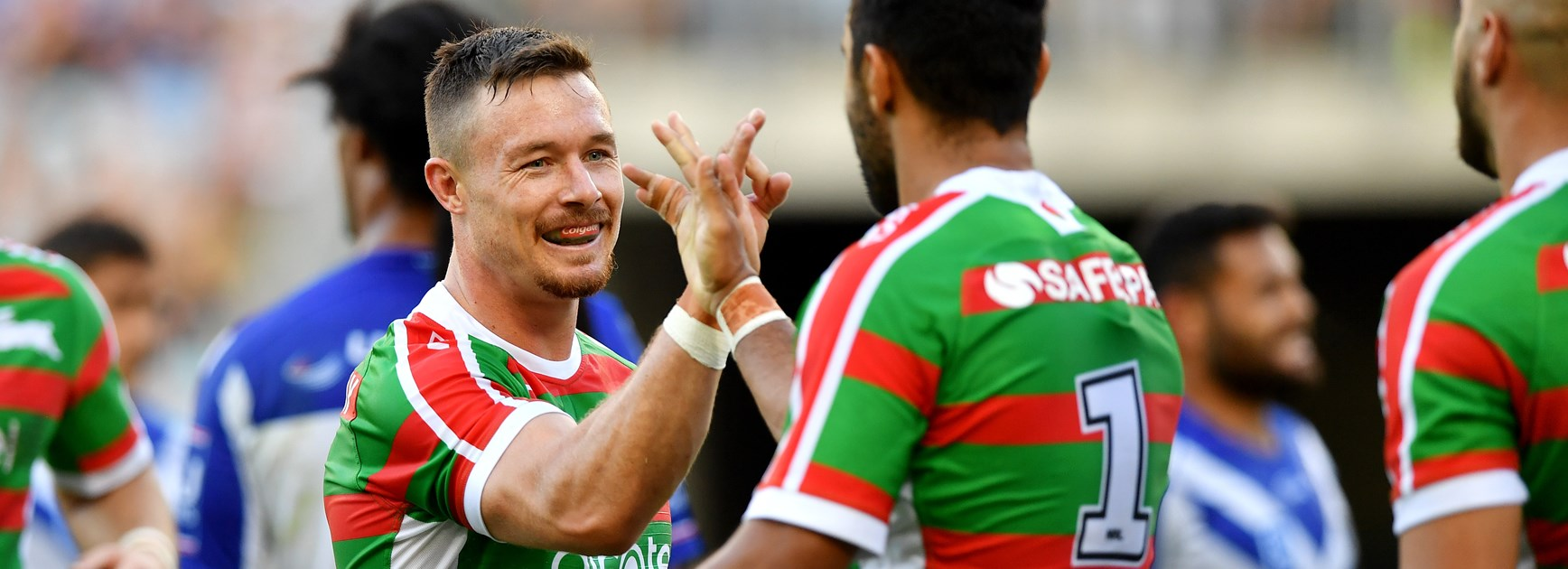 Handshakes, hugs and fist bumps: How Bennett and the Bunnies clicked